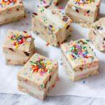 Vegan Funfetti Cookie Dough Ice Cream Sandwiches