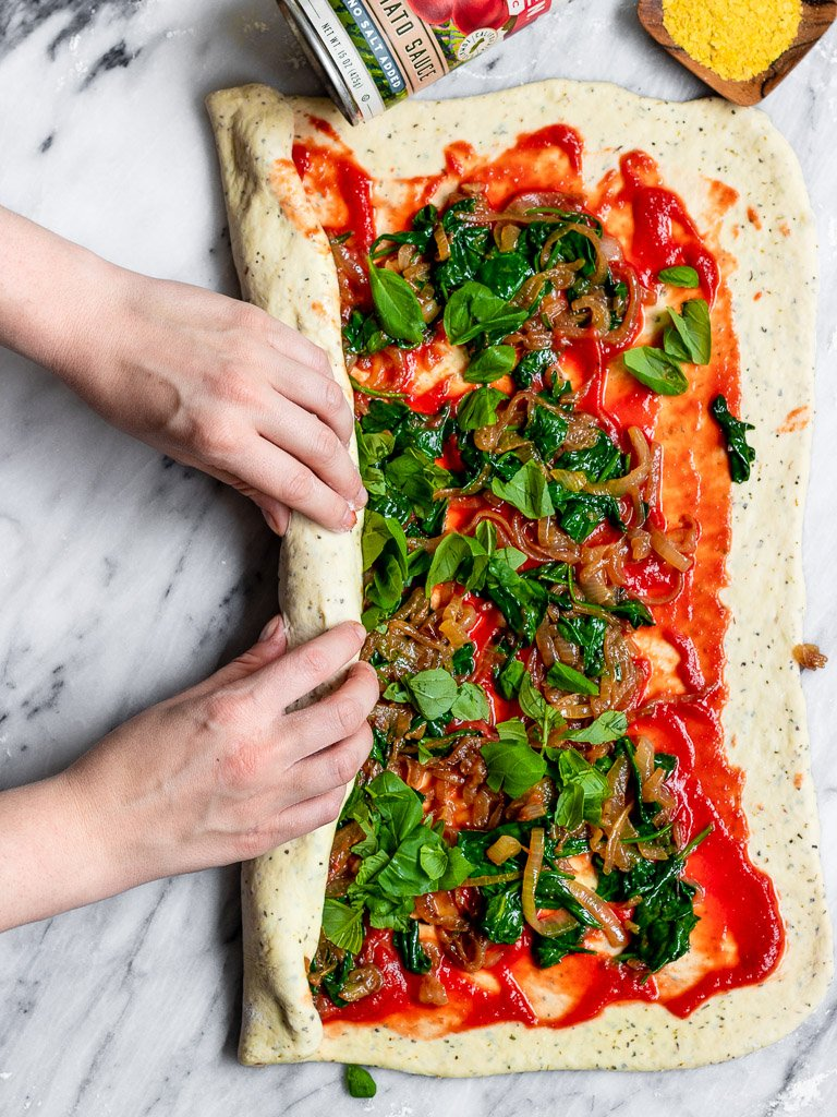 Roll the Vegan Pizza Dough