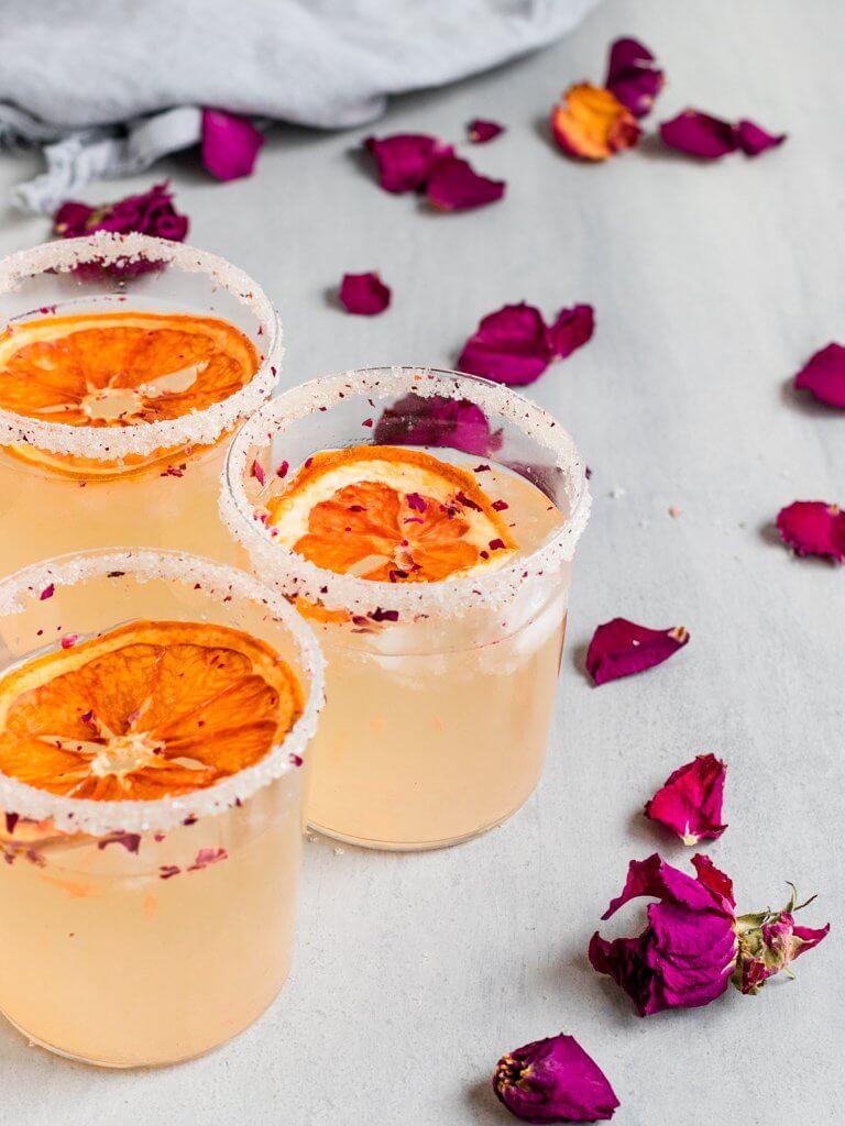 Grapefruit Rose Paloma Cocktail