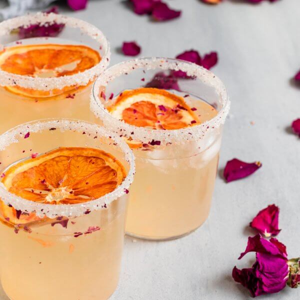 Grapefruit Rose Paloma Cocktail