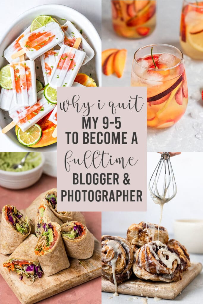 why i quit job to become a food blogger and photographer