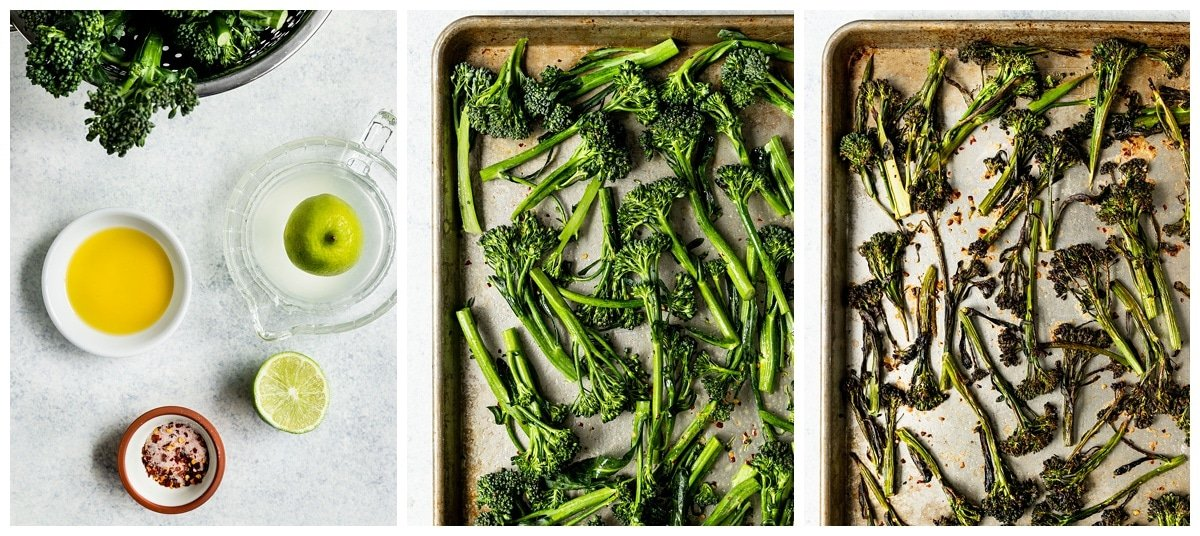 steps to make broiled broccolini