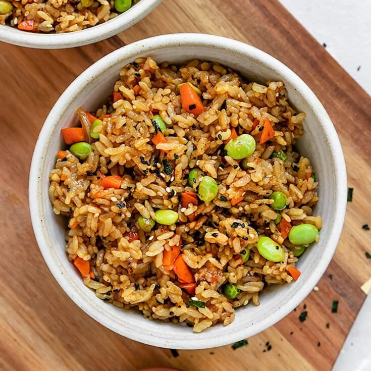 The Best Vegan Fried Rice Shortgirltallorder