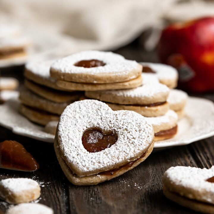 Vegan Apple Butter Cookies