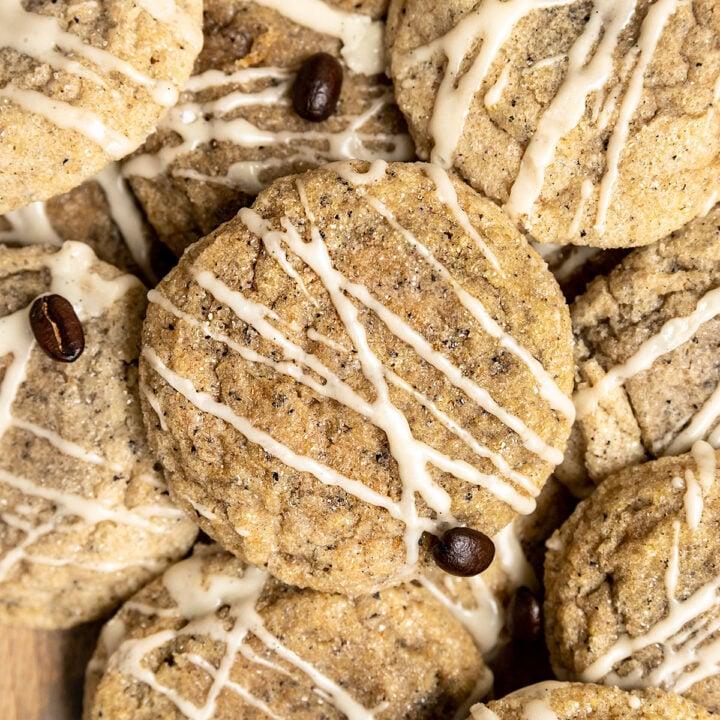 Vegan Coffee Sugar Cookies
