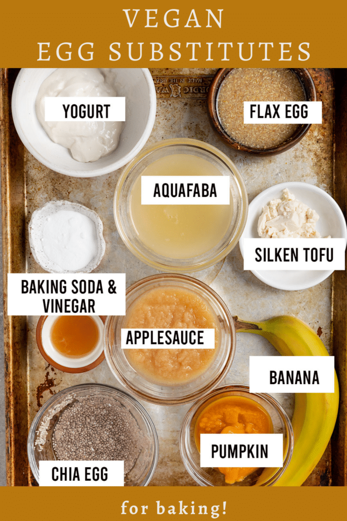 vegan egg substitutes for baking